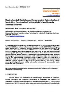 Electrochemical Oxidation and Amperometric Determination of ...