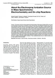 Electrochemistry and On-chip Reactions - Infoscience - EPFL