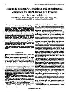 Electrode Boundary Conditions and Experimental ... - Semantic Scholar