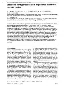 Electrode Configurations and Impedance Spectra ... - Semantic Scholar