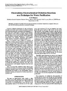 Electrodeless electrochemical oxidation reactions as a ... - Springer Link