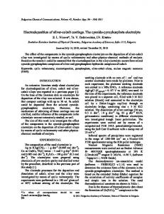 Electrodeposition of silver-cobalt coatings. The cyanide