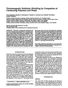 Electromagnetic radiation shielding by ... - Wiley Online Library