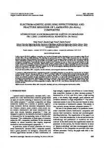 ELECTROMAGNETIC-SHIELDING EFFECTIVENESS AND ...