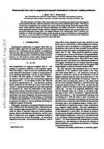 Electromotive force due to magnetohydrodynamic fluctuations in ...