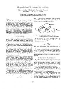 Electron Cooling with Neutralised Electron Beams