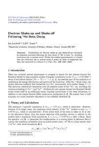Electron Shake-up and Shake-off Following 6He Beta Decay
