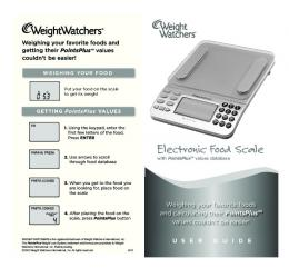 Electronic Food Scale