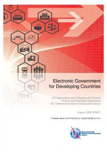 Electronic Government for Developing Countries