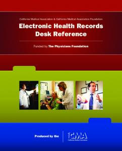 Electronic Health Records Desk Reference - The Physicians ...