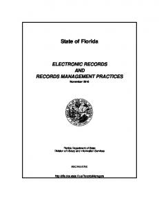 Electronic Records and Records Management Practices (PDF)