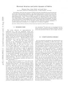 Electronic Structure and Lattice dynamics of NaFeAs