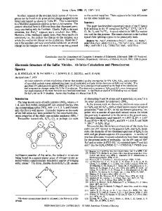 Electronic Structure of the Sulfur Nitrides. Ab Initio Calculations and