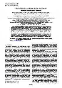 Electronic Structure of Ultrathin Bismuth Films with A7 and Black ...