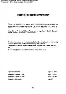 Electronic Supporting Information - Royal Society of Chemistry