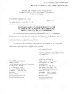 Electronically Filed - Florida Supreme Court