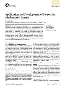Electronics Science Technology and Application