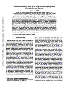 Electrostatic solitary waves in an electron-positron pair plasma with