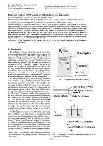 Elemental Analysis of Pd Complexes - LENR-CANR.org