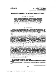 ELEMENTARY SUBGROUPS OF ISOTROPIC REDUCTIVE GROUPS ...