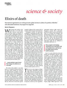 Elixirs of death - Wiley Online Library