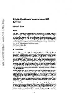 Elliptic fibrations of some extremal K3 surfaces