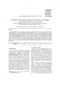 Elongated bubble behavior during flow boiling in a ... - Springer Link