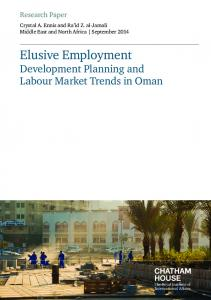 Elusive Employment - Chatham House