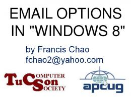 Email Options for