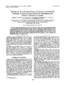 Emergence - Journal of Clinical Microbiology - American Society for ...