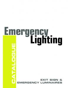 Emergency Lighting - Beghelli | North America