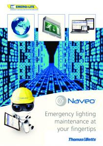 Emergency lighting maintenance at your fingertips