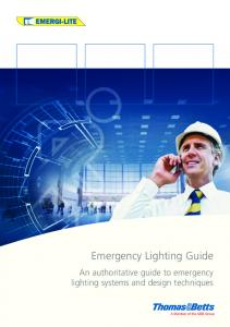 Emergi-lite Emergency Lighting Guide