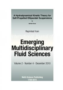 Emerging Multidisciplinary Fluid Sciences - Math.utah.edu - University ...