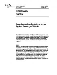 Emission Facts: Greenhouse Gas Emissions from a ... - ChargePoint