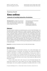 Emo online - OUR Archive