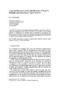 Empirical research on the identification of singular ... - Springer Link