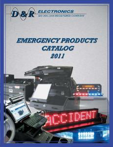 EMS / POLICE / FIRE PRODUCTS