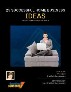 Enabled4Success.com-25-Successful-Home-Business-Ideas ...