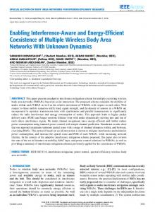 Enabling Interference-Aware and Energy-Efficient ... - IEEE Xplore