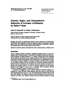 Enantio-, Regio-, and Chemoselective Reduction of ... - Springer Link