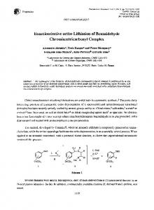 Enantioselective ortho-Lithiation of Benzaldehyde ... - Science Direct