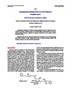 Enantioselective Synthesis of the C(1)-C(6') Subunit