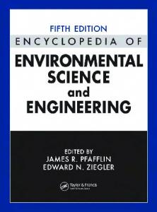 Encyclopedia of Environmental Science and Engineering - Indian ...