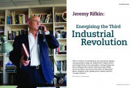 Energizing the Third Industrial Revolution - Siemens Energy