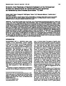 Energy and Electron Transfer in Photosystem II Reaction Centers with ...
