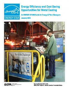 Energy Efficiency and Cost Savings Opportunities for Metal Casting ...