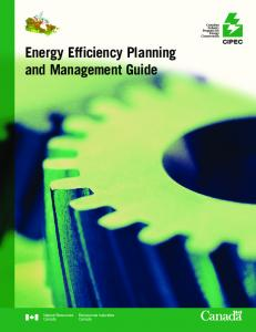 Energy Efficiency Planning and Management Guide - Ressources ...