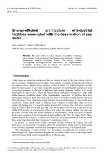 Energy-efficient architecture of industrial ... - E3S Web of Conferences