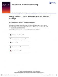 Energy Efficient Cluster Head Selection for Internet of Things.pdf